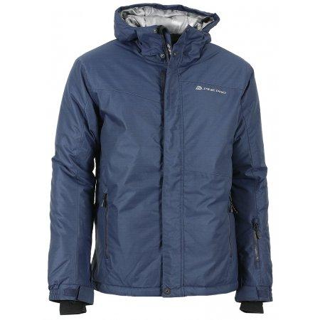 Pánská zimní bunda ALPINE PRO CALLISTO 4 TMAVĚ MODRÁ