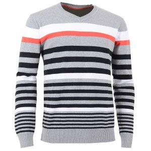 Pánský svetr ALPINE PRO ERLAN SVĚTLE ŠEDÁ
