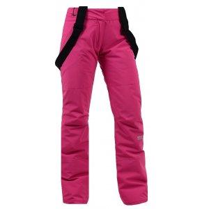 Dámské lyžařské kalhoty NORDBLANC AWE NBWP5851 TMAVĚ RŮŽOVÁ
