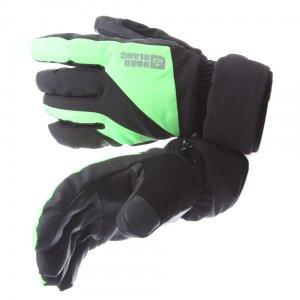 Pánské lyžařské rukavice NORDBLANC LORDLY NBWG5978 ZELENÁ JEŠTĚRKA