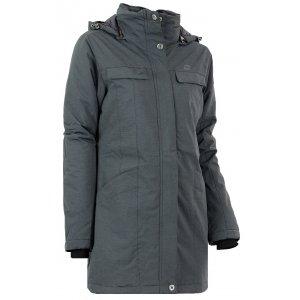 Dámský krátký kabát ALPINE PRO BAJITA ČERNÁ 3ff65c634be