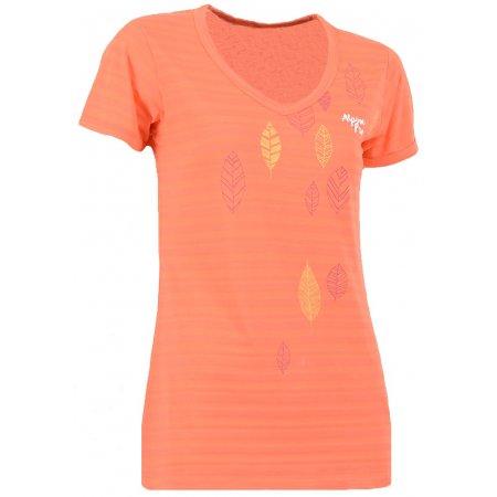 Dámské triko s krátkým rukávem ALPINE PRO VOTNA SVĚTLE RŮŽOVÁ