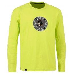 Pánské triko s dlouhým rukávem ALTISPORT BURDUR ALMW16081 SVĚTLE ZELENÁ