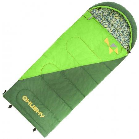 Dětský dekový spací pytel Husky Kids Milen -5°C zelená