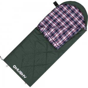 Dekový spací pytel Husky Gary -5°C zelená