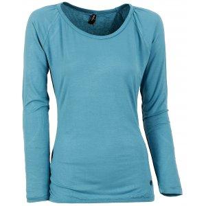 Dámské triko s dlouhým rukávem KIXMI BLONDIE AALTW16106 SVĚTLE MODRÁ