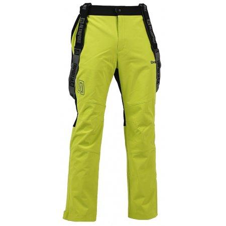 Pánské softshellové kalhoty ALTISPORT MARMAR ALMW16027 SVĚTLE ZELENÁ