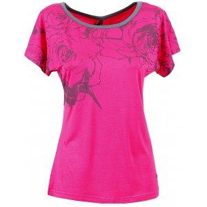 Dámské triko s krátkým rukávem KIXMI BERNADETT AALTW16104 RŮŽOVÁ
