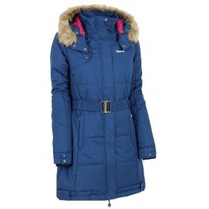Dámský zimní kabát KIXMI BEKKI AALCW16701 TMAVĚ MODRÁ