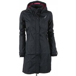 Dámský softshell kabát KIXMI BLANCHE AALJW16703 ČERNÁ
