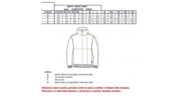 Chlapecká mikina ALTISPORT SARUL-J ALJW16104 MODRÁ velikost  134-140    ENVY-ESHOP.cz 96c17f7c31