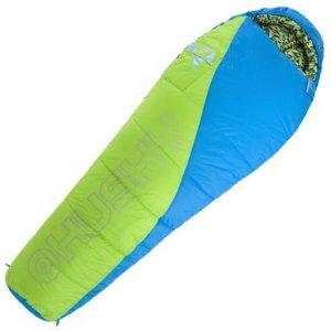 Dětský spací pytel Husky Kids Merlot New -10°C zelená