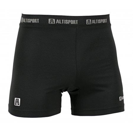 Dětské termo boxerky ALTISPORT POPKE-J ALJW16116 ČERNÁ