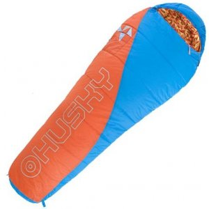 Dětský spací pytel Husky Kids Merlot New -10°C oranžová