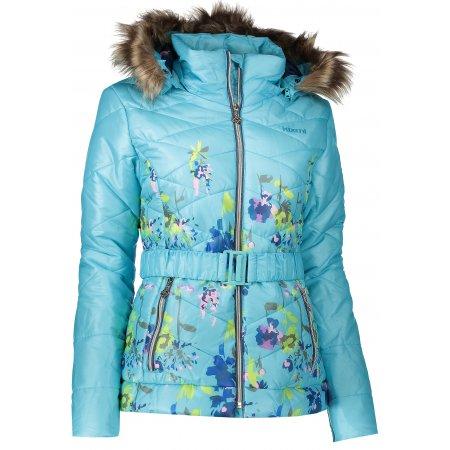 Dámská zimní bunda KIXMI BELINDA AALJW16705 SVĚTLE MODRÁ