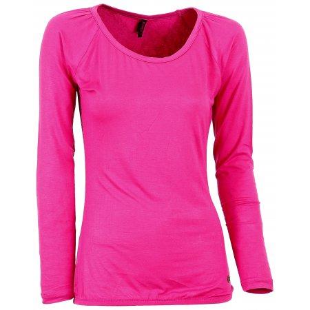 Dámské triko s dlouhým rukávem KIXMI BLONDIE AALTW16106 RŮŽOVÁ