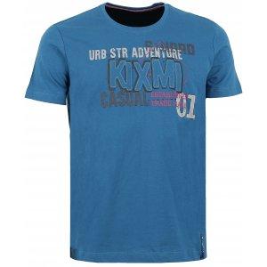 Pánské triko s krátkým rukávem KIXMI BRAITH AAMTW16153 MODRÁ