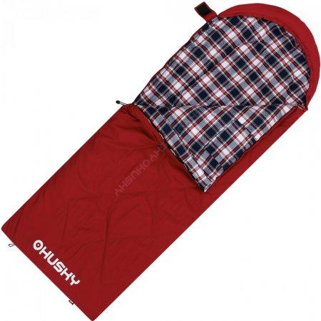 Dětský dekový spací pytel Husky Kids Galy -5°C červená