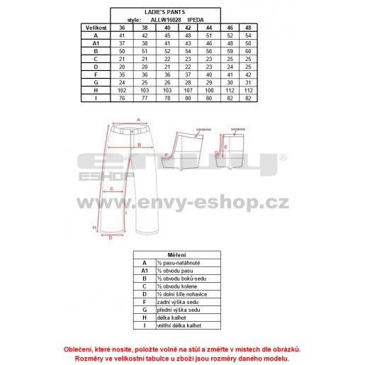 Dámské kalhoty ALTISPORT IPEDA ALLW16028 TYRKYSOVÁ