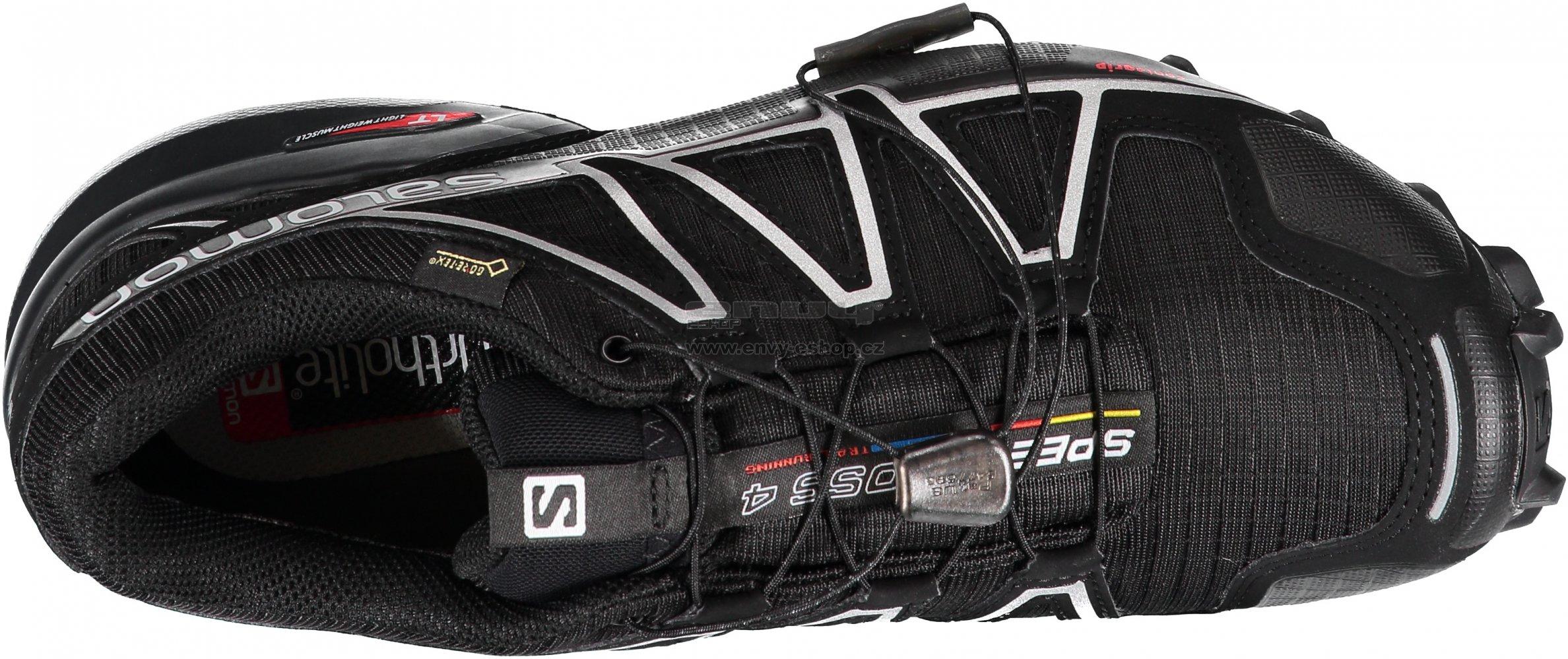 Pánské běžecké boty Salomon Speedcross 4 GTX Black black si velikost ... 48323edaf9