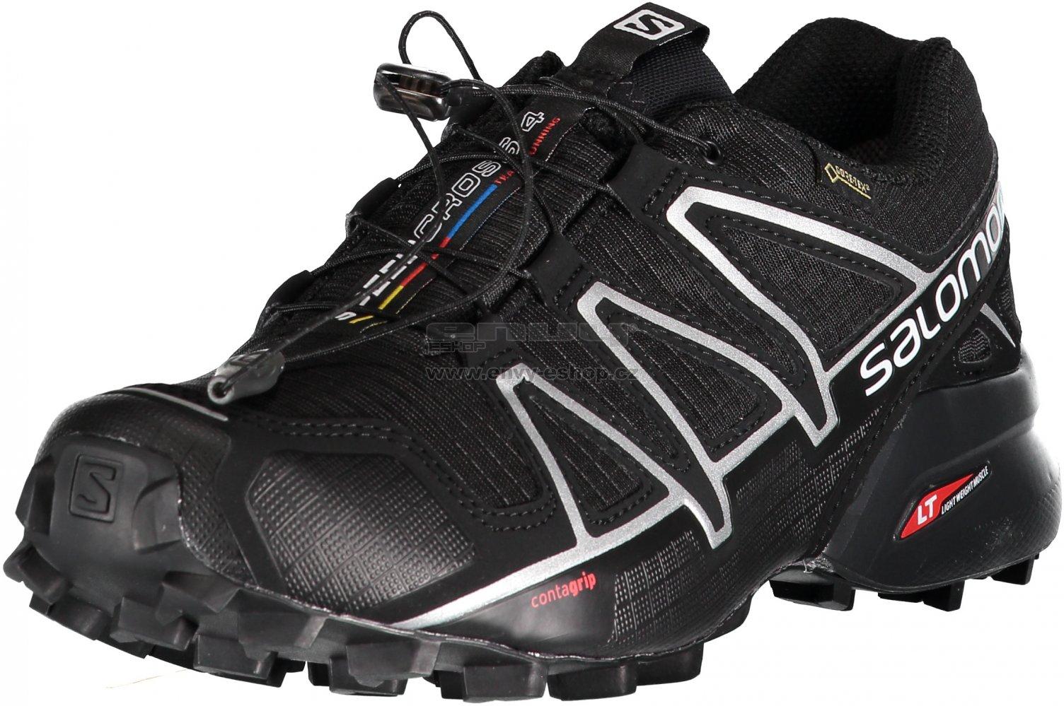 42572b083ab Pánské běžecké boty Salomon Speedcross 4 GTX Black black si velikost ...