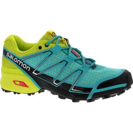 Dámské běžecké boty Salomon Speedcross Vario W Bubble blue/gecko green