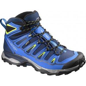 Pánské trekové boty Salomon X Ultra Mid 2 GTX® Blue depths/blue/gecko green