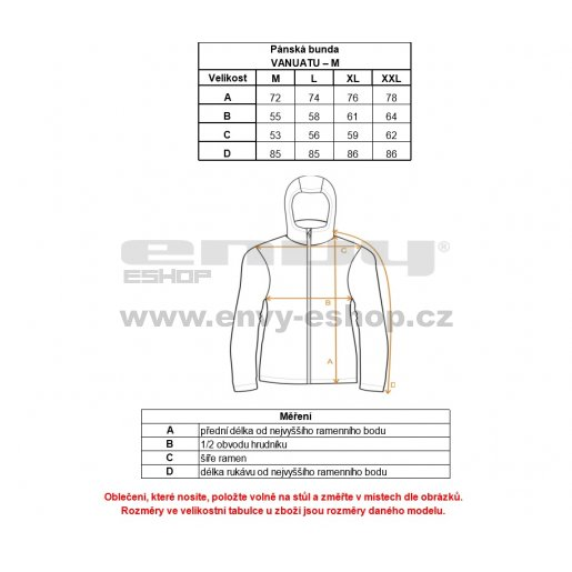 Pánská softshellová zimní bunda KILPI VANUATU-M MODRÁ