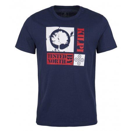 Pánské tričko s krátkým rukávem KILPI TREE-M TMAVĚ MODRÁ