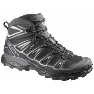 Pánské trekové boty Salomon X Ultra Mid 2 GTX® Black/black/aluminium