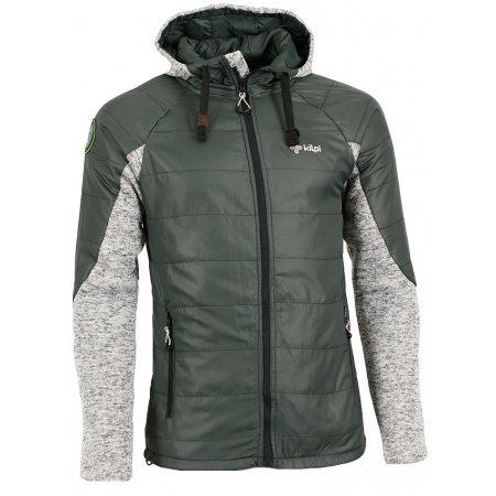 Pánská zimní bunda KILPI CREE-M ZELENÁ