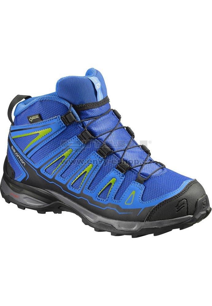 Dětské trekové boty Salomon X-Ultra MID GTX® J Blue yonder blue ... 07b0d41d86