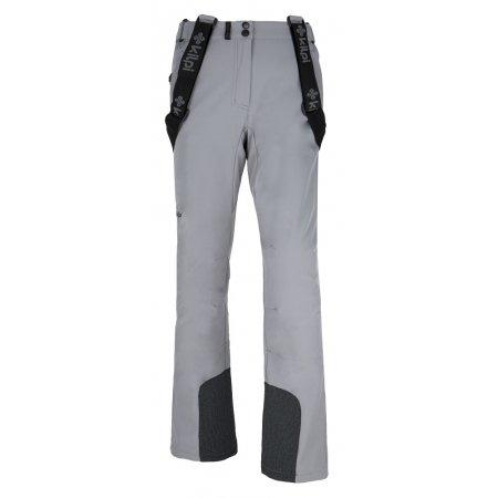Dámské zimní kalhoty KILPI RHEA-W SVĚTLE ŠEDÁ