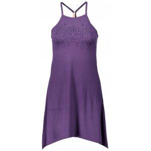 Dámské šaty NORDBLANC SPRUCE NBSLD6257 TMAVĚ FIALOVÁ