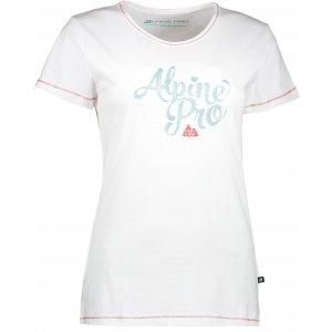Dámské triko s krátkým rukávem ALPINE PRO FONTA LTSJ240 BÍLÁ