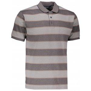 Pánské triko s límečkem ALPINE PRO HEROLD 3 MTSJ190 ŠEDÁ