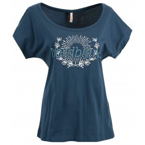 Dámské tričko NORDBLANC LAUREL NBSLT6232 ŽELEZNÁ MODRÁ