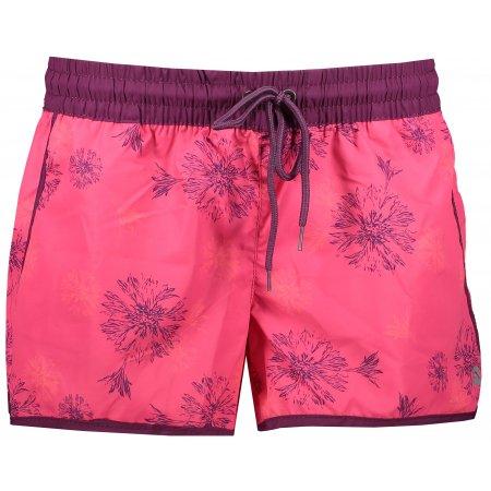 Dámské šortky ALPINE PRO CLEOFA LPAJ153 RŮŽOVÁ