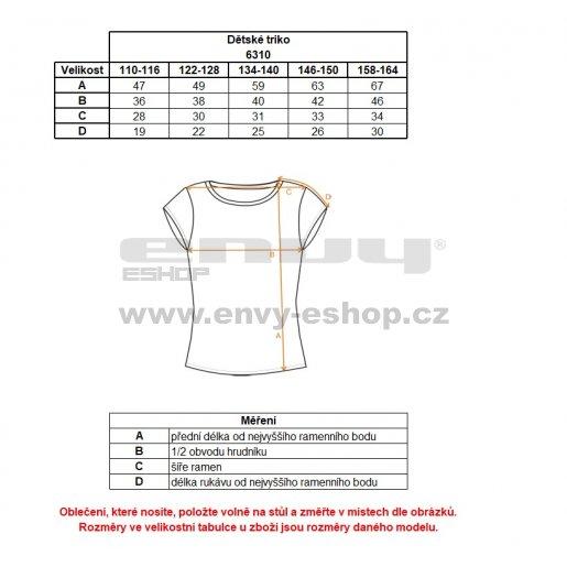 Dívčí bavlněné tričko NORDBLANC EVERY NBSKT6310L TMAVĚ FIALOVÁ