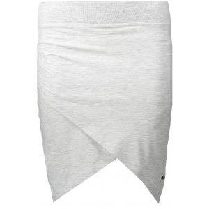 Dámská sukně NORDBLANC TULIP NBSSL6260 SVĚTLE ŠEDÝ MELÍR