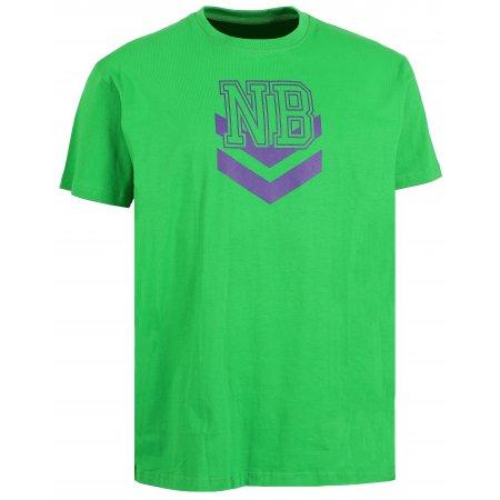 Pánské tričko NORDBLANC DART NBSMT6206 AMAZONSKÁ  ZELENÁ