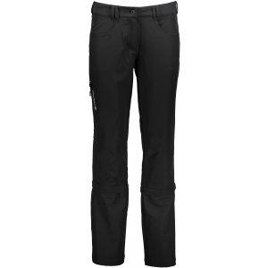 Dámské softshell kalhoty 2v1 ALPINE PRO PIZA LPAJ093 ČERNÁ