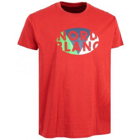 Pánské tričko NORDBLANC FLAG NBSMT6208 ČERVENÁ
