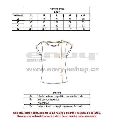 Pánské sportovní tričko NORDBLANC DESIRED NBSMF6147 AZUROVÁ MODRÁ