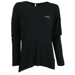Dámské tričko na jógu NORDBLANC SLOPPY NBSLF6183 ČERNÁ