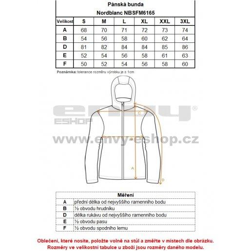 Pánská běžecká bunda NORDBLANC WORTH NBSFM6165 ŽELEZNÁ MODRÁ