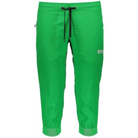 Dámské 3/4 kalhoty NORDBLANC SUPPLE NBSPL6135 AMAZONSKÁ  ZELENÁ