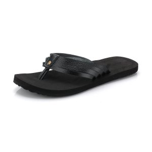 Dámské pantofle ALPINE PRO HARINDA LBTJ130 ČERNÁ