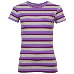 a25ce559aaa Dámské triko s krátkým rukávem ALPINE PRO PENSIERI 2 LTSJ186 TMAVĚ FIALOVÁ