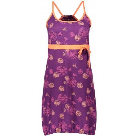 Dámské šaty ALPINE PRO PERENA LSKJ059 FIALOVÁ